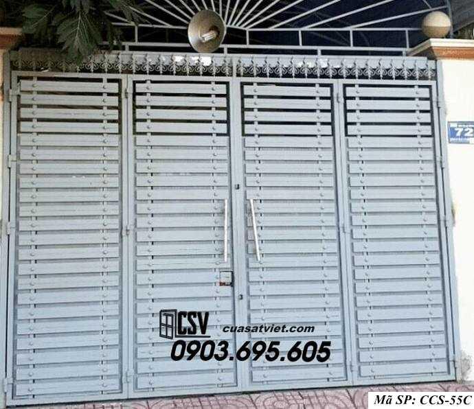 Mẫu cổng nhà đẹp CCS 55c