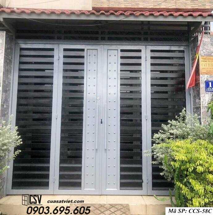 Mẫu cổng nhà đẹp CCS 58c
