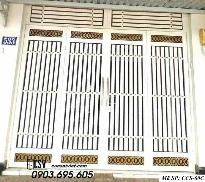 Mẫu cổng nhà đẹp CCS 60c