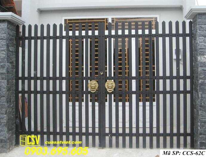 Mẫu cổng nhà đẹp CCS 62c