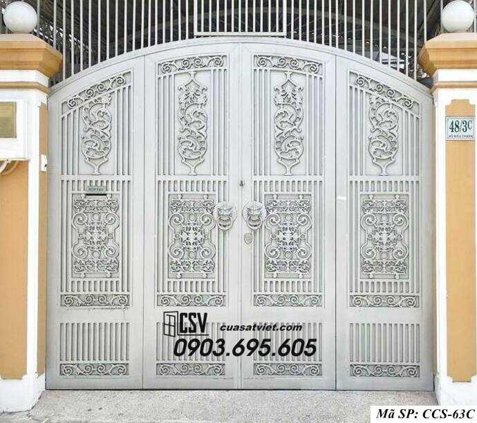 Mẫu cổng nhà đẹp CCS 63c