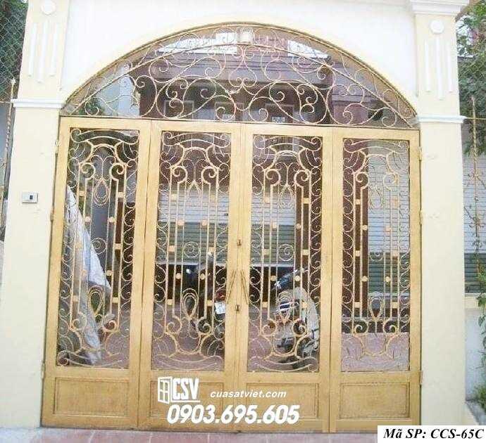 Mẫu cổng nhà đẹp CCS 65c