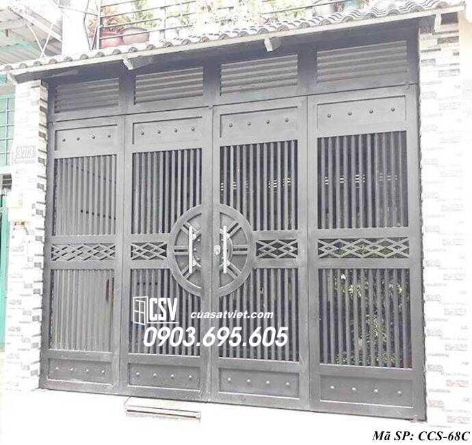 Mẫu cổng nhà đẹp CCS 68c