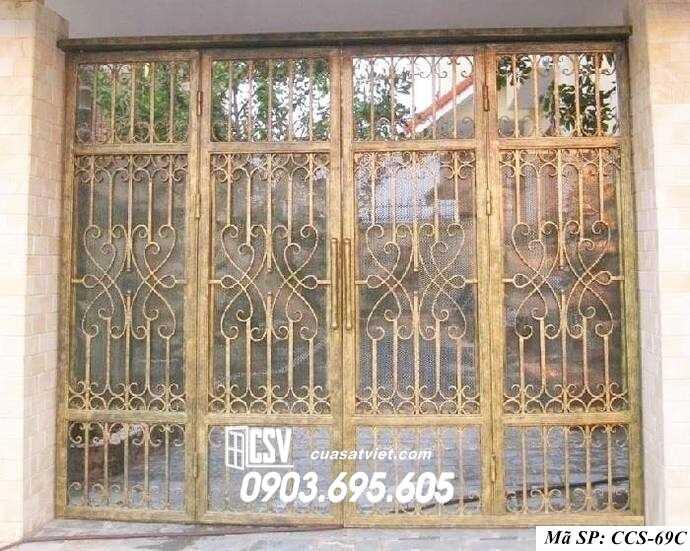 Mẫu cổng nhà đẹp CCS 69c