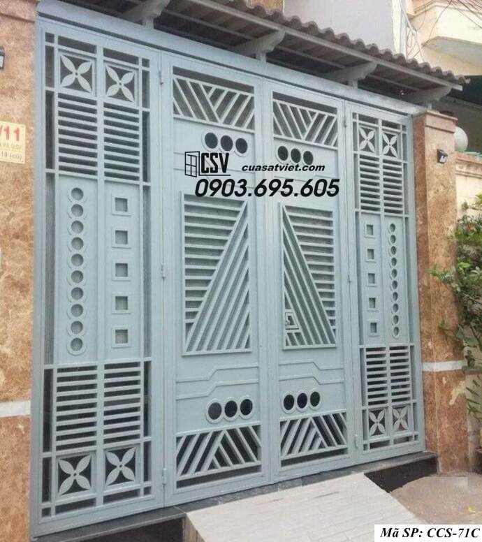 Mẫu cổng nhà đẹp CCS 71C