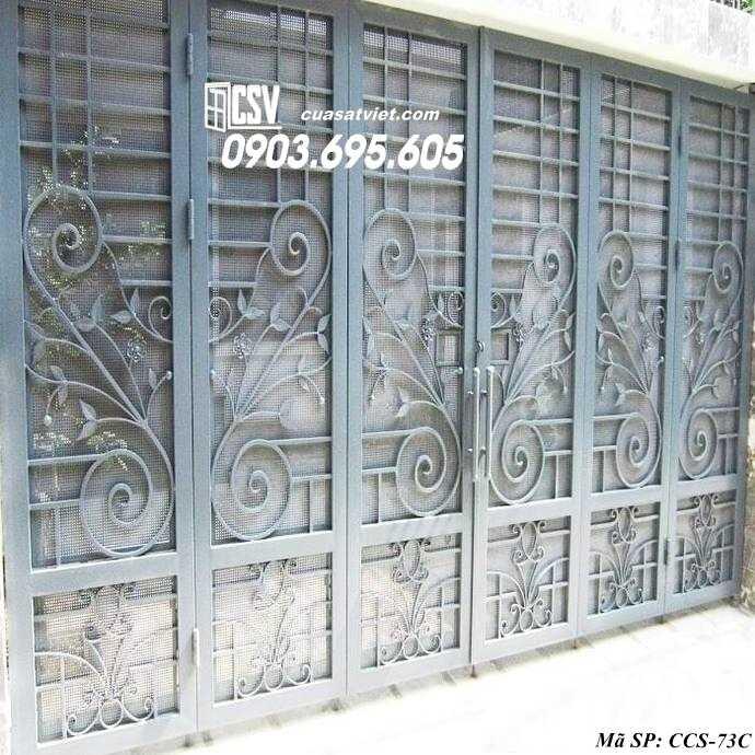 Mẫu cổng nhà đẹp CCS 73c