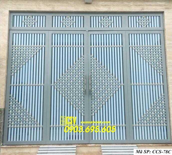 Mẫu cổng nhà đẹp CCS 78c