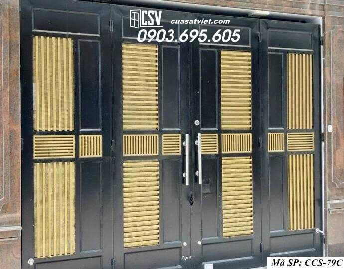 Mẫu cổng nhà đẹp CCS 79c