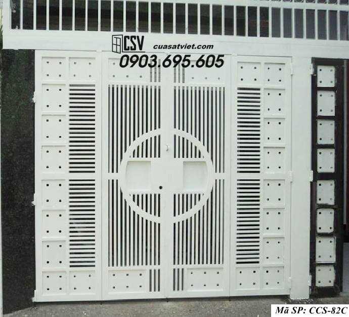 Mẫu cổng nhà đẹp CCS 82c