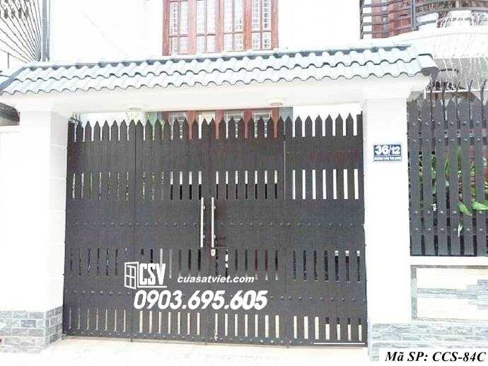 Mẫu cổng nhà đẹp CCS 84c