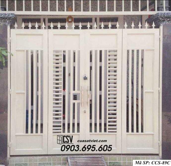 Mẫu cổng nhà đẹp CCS 89c