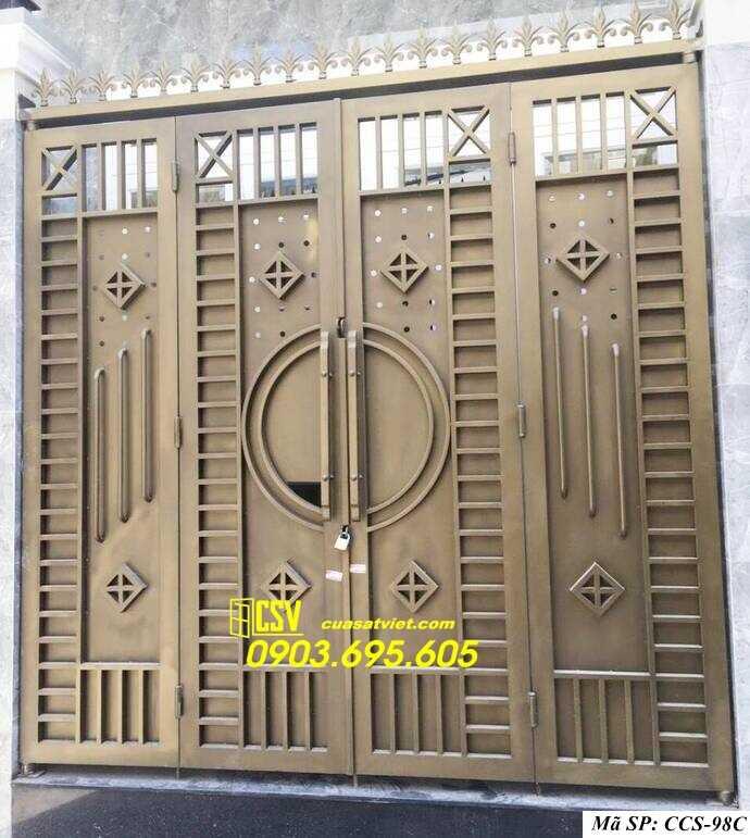 Mẫu cổng nhà đẹp CCS 98c