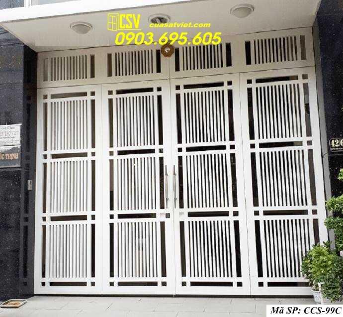 Mẫu cổng nhà đẹp CCS 99c