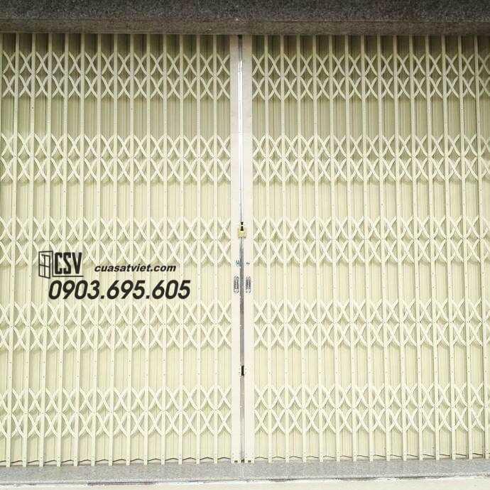 Mẫu cửa sắt kéo đài loan
