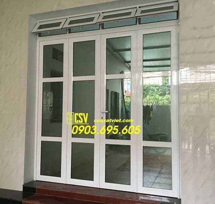 Mẫu cửa nhôm kính