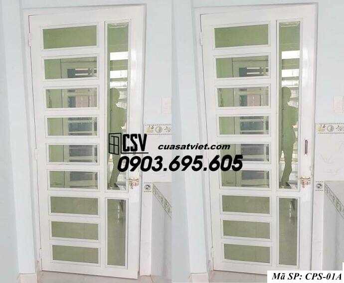 Mẫu cửa sắt kính CPS- 1A