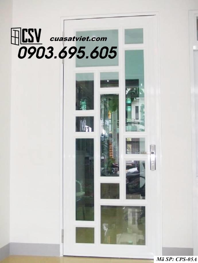 Mẫu cửa sắt kính CPS- 5A