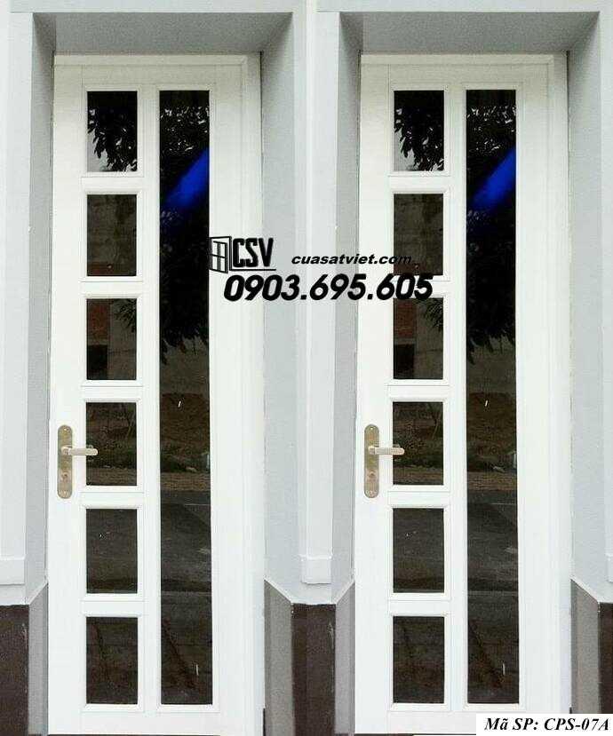 Mẫu cửa sắt kính CPS- 7A