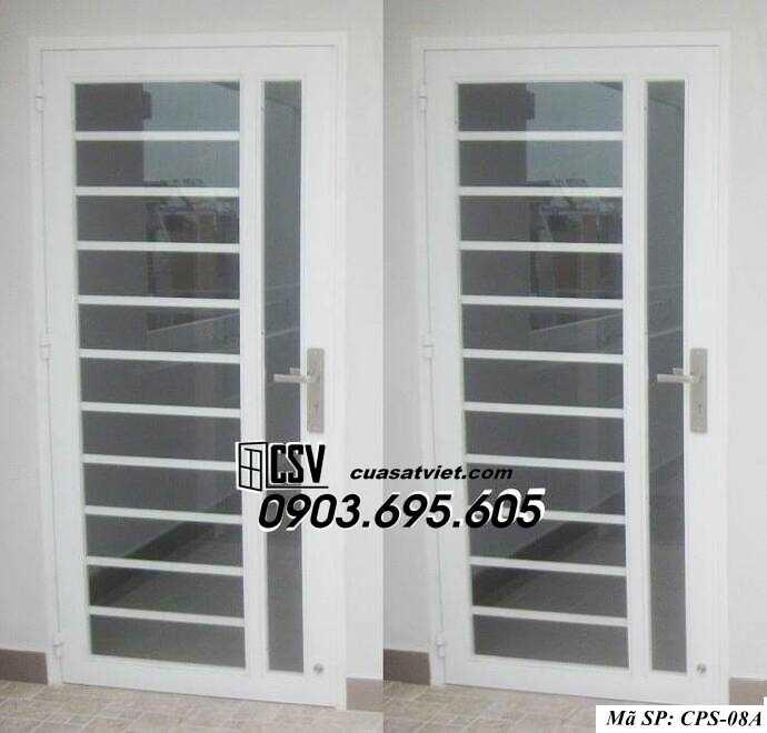 Mẫu cửa sắt kính CPS- 8A