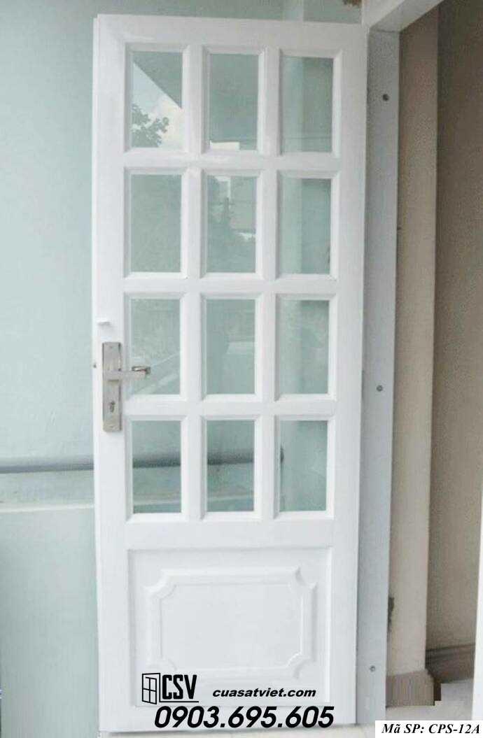 Mẫu cửa sắt kính CPS- 12A