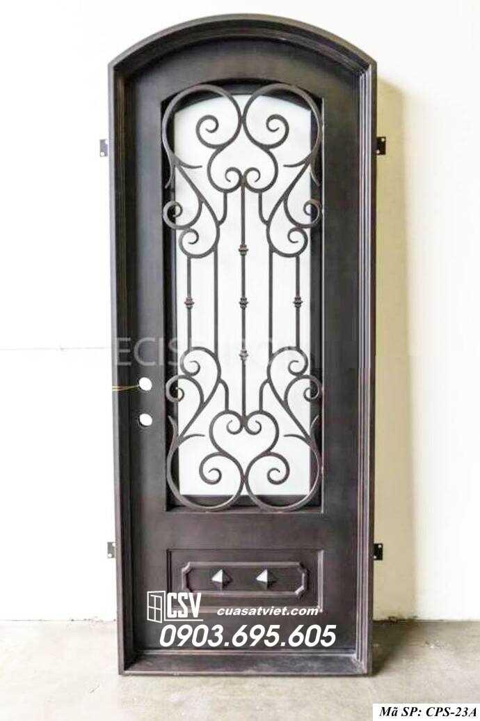 Mẫu cửa sắt 1 cánh CPS 23a