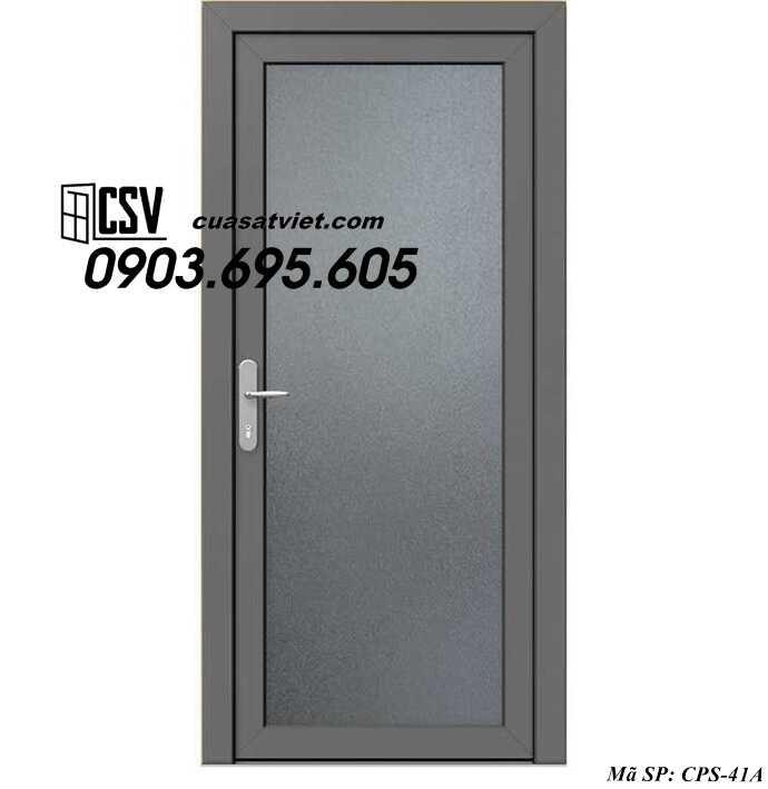 Mẫu cửa sắt 1 cánh CPS 41a
