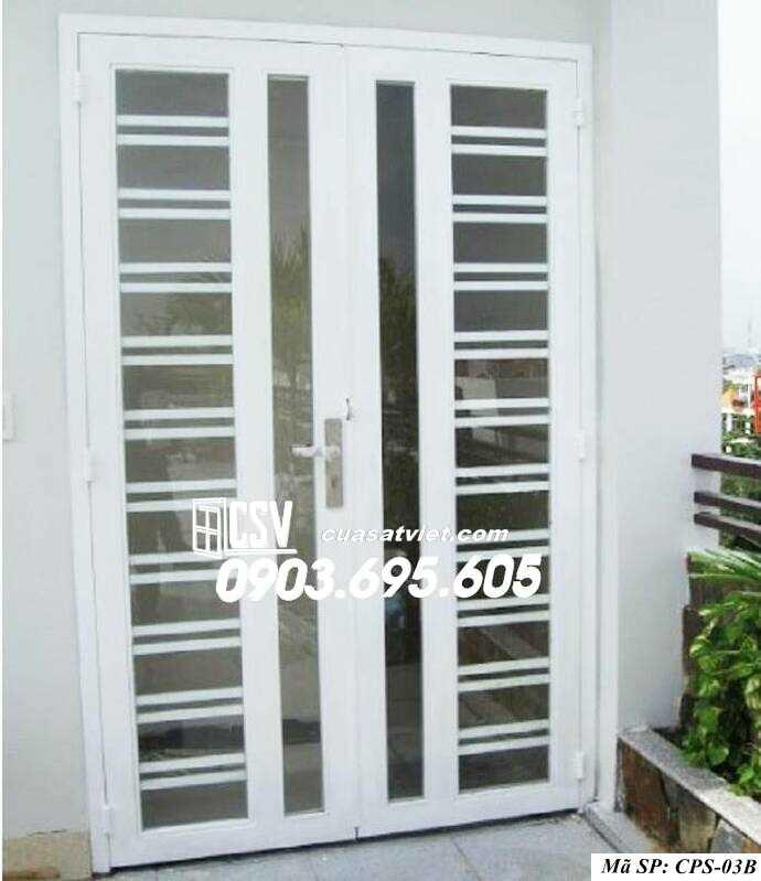 Mẫu cửa sắt kính CPS- 3B