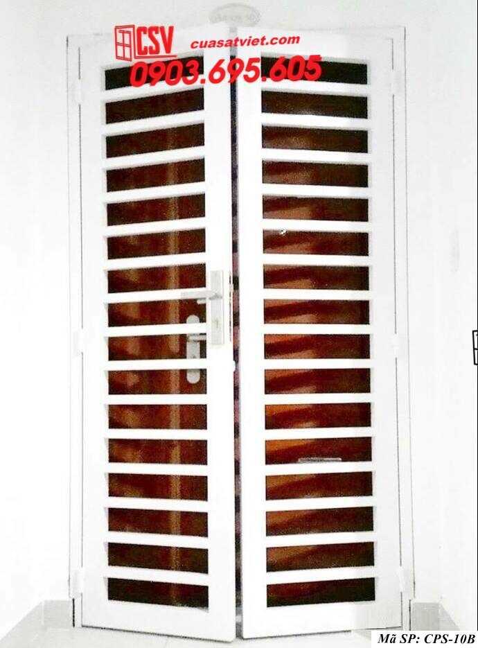 Mẫu cửa sắt chung cư đẹp CPS 10b