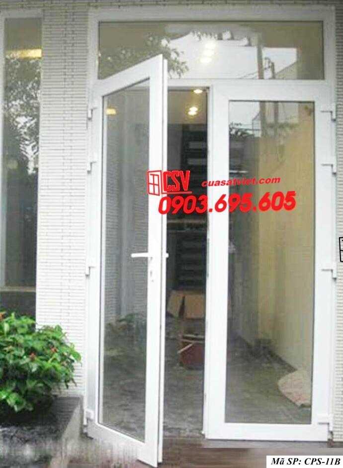 Mẫu cửa sắt kính CPS- 11B