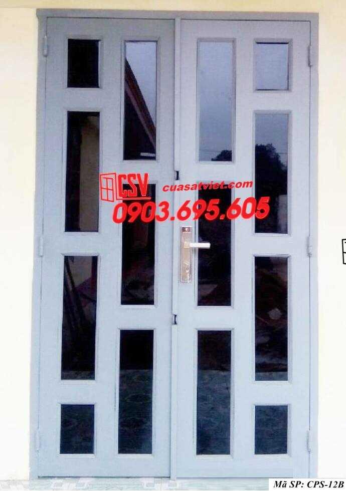 Mẫu cửa sắt kính CPS- 12B