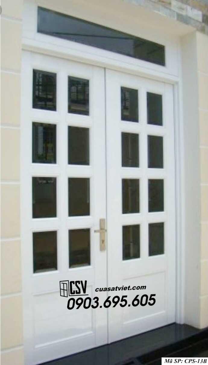 Mẫu cửa sắt kính CPS- 13B