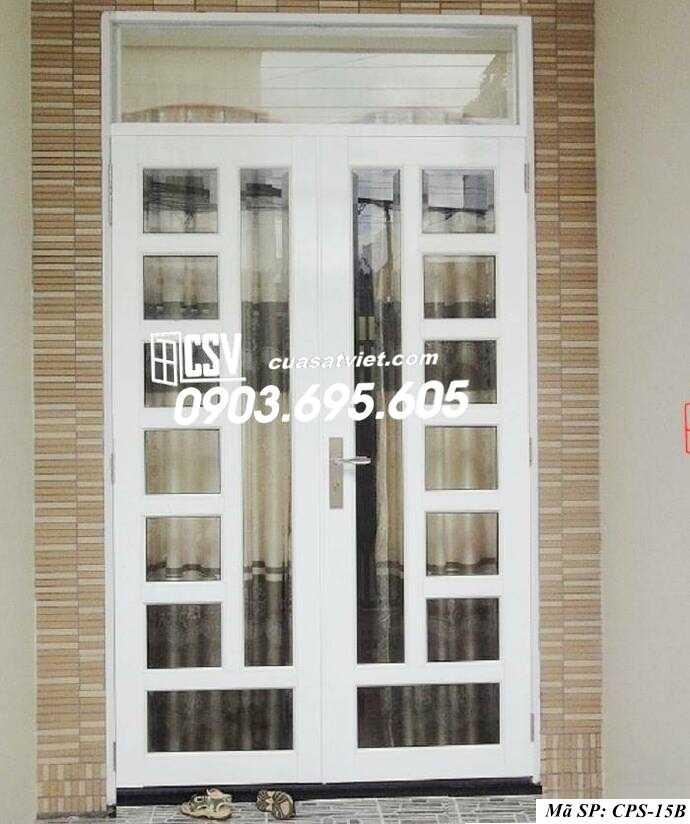 Mẫu cửa sắt kính CPS- 15B
