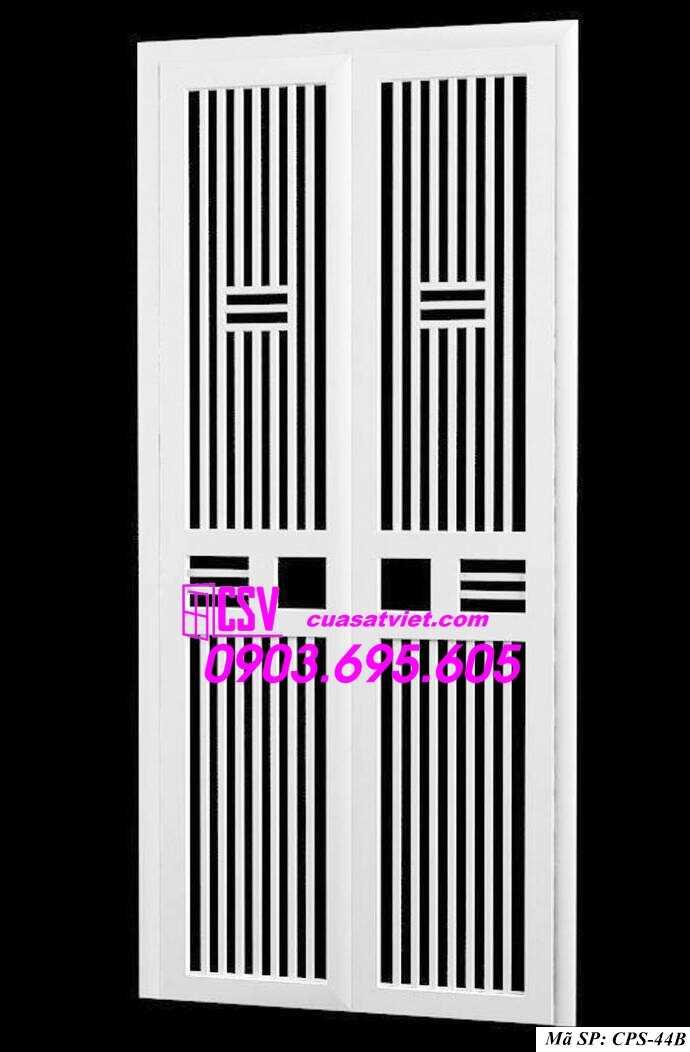 Mẫu cửa sắt chung cư đẹp CPS 44b