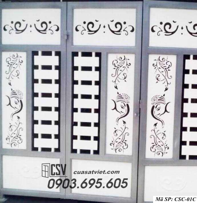 Mẫu cổng nhà đẹp CSC 01c