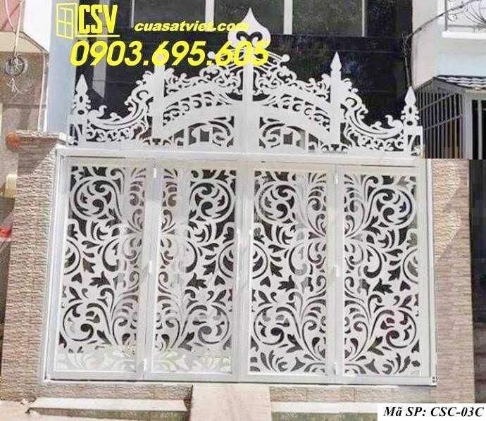 Mẫu cổng nhà đẹp CSC 03c