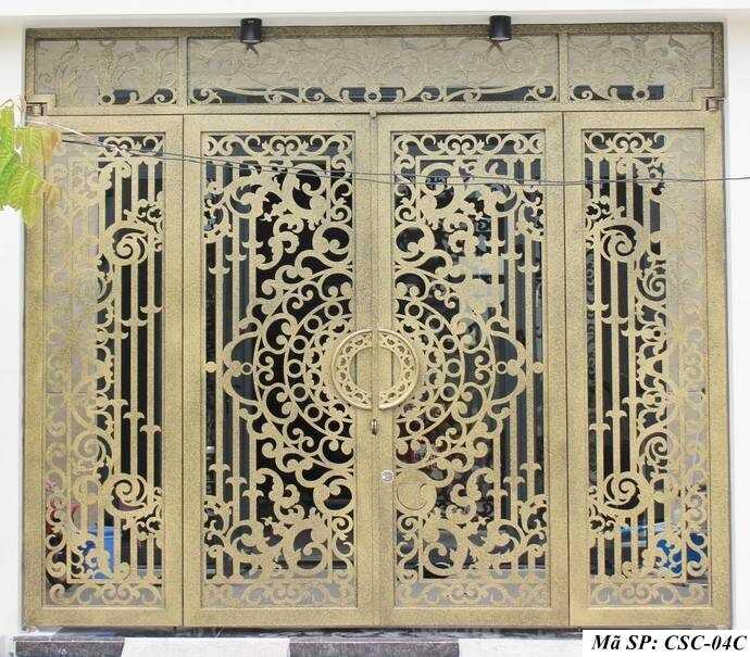 Mẫu cổng nhà đẹp CSC 04C