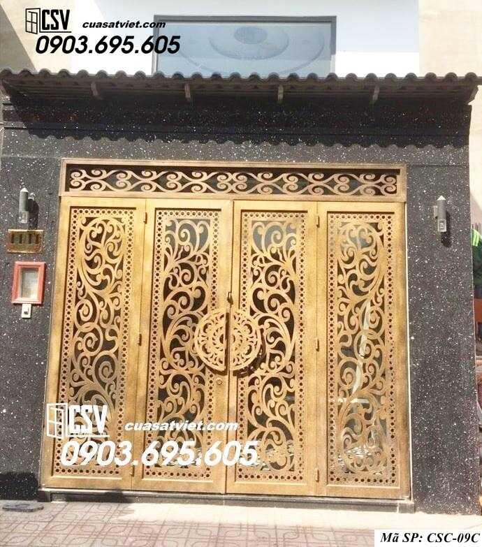 Mẫu cổng nhà đẹp CSC 09c