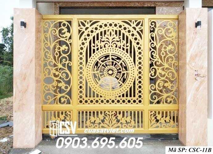 Mẫu cổng nhà đẹp CSC 11b