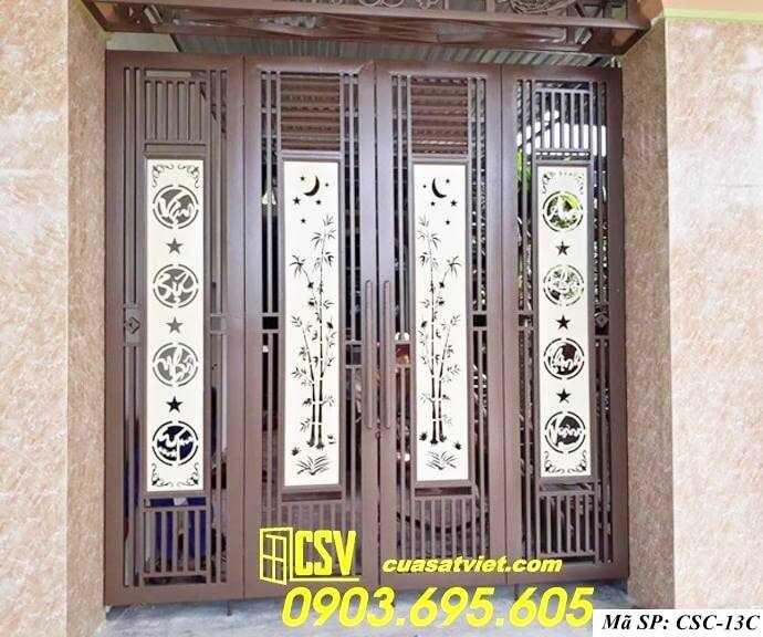 Mẫu cổng nhà đẹp CSC 13C