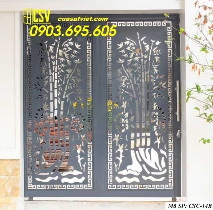 Mẫu cổng nhà đẹp CSC 14b