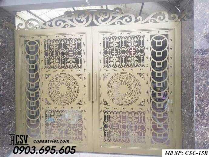 Mẫu cổng nhà đẹp CSC 15b