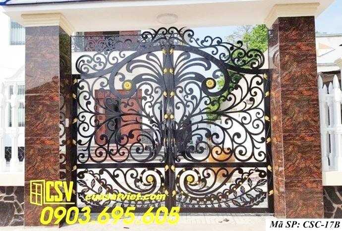 Mẫu cổng nhà đẹp CSC 17b