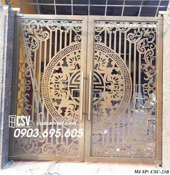 Mẫu cổng nhà đẹp CSC 23b