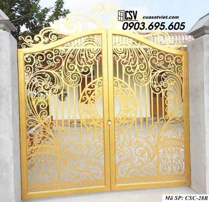 Mẫu cổng nhà đẹp CSC 28b
