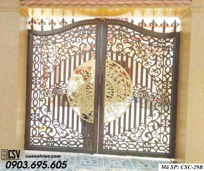 Mẫu cổng nhà đẹp CSC 29b