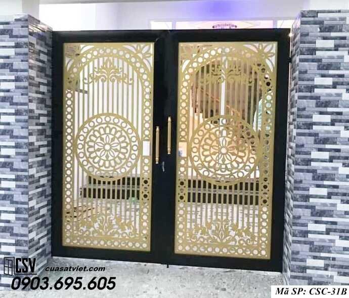 Mẫu cổng nhà đẹp CSC 31b