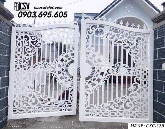 Mẫu cổng nhà đẹp CSC 32b