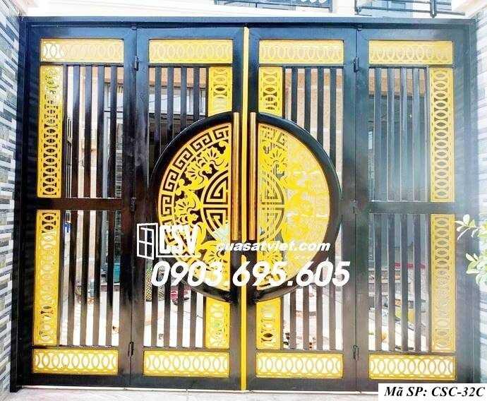 Mẫu cổng nhà đẹp CSC 32c