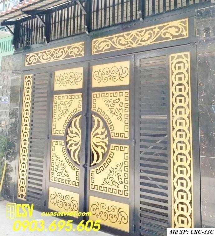 Mẫu cổng nhà đẹp CSC 33c