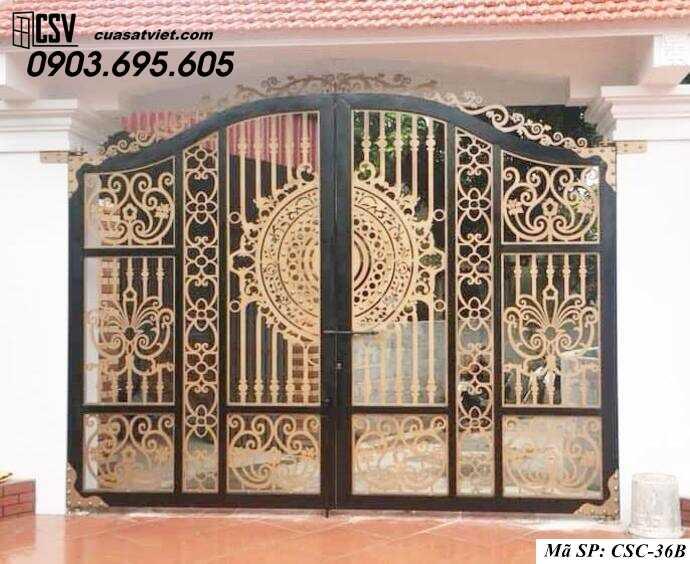 Mẫu cổng nhà đẹp CSC 36b